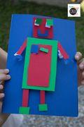 Lavoretti per bambini: come fare i robot di carta