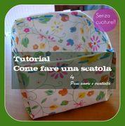 Come fare una scatola portaoggetti