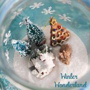La magia della neve nei vasetti di vetro: winter wonderland diy