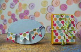 Un'idea per decorare le scatoline con washi tape e colori primaverili