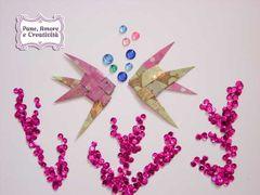 Pesci origami: guarda come si fanno