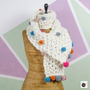 Come fare una sciarpa con i pompon
