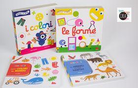 Libri per bambini da 1 a 2 anni:  Chi con chi e Segui il dito - Gallucci