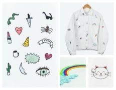 Schemi gratis ricamo per personalizzare giacche e vestiti