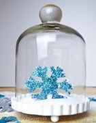 Fiocchi di neve diy per il costume della regina Elsa di Frozen - con Canon Legria Mini