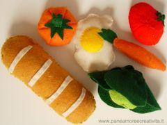 Giochi per bambini: i cibi da fare con carta, pasta modellabile, feltro e molto altro!