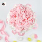 Matrimonio fai da te: il bouquet di rose di carta
