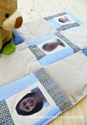 Come fare una coperta patchwork con le foto