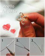 Come fare un anello con i cuori