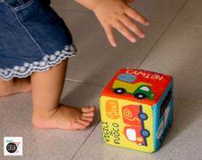 Libri per bebè: Libro dado - brummm!