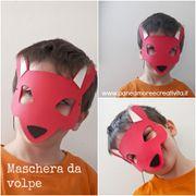 Carnevale fai da te: come fare la maschera da volpe