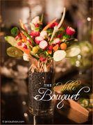 Idee per la tavola di Pasqua: bouquet di frutta e verdura