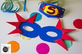 Riciclo: come fare una maschera da supereroe