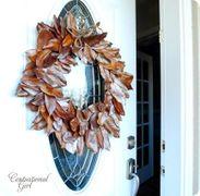 Una ghirlanda di foglie di Magnolia